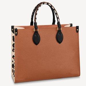 Classic Alta Qualidade Luxury Designer Saco Womens OntheGo Totes Shlouder Sacos de Compras Genuíno Embreagem De Couro Moda Crossbodys Navio Grátis