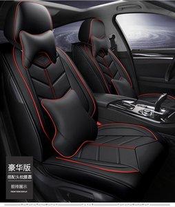 2021 Accesorios de protección interna automática Cubierta de asiento de automóvil para camión sedán SUV Lino Puntotear Cuero de lujo Protector universal Cojín (transporte gratuito) -22
