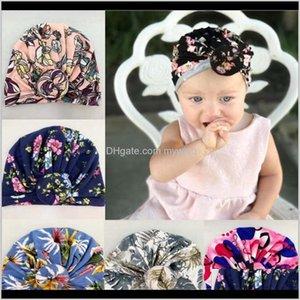 India Casual Warm Head Wraps Toddler Headwears Turban Flower Headwraps Xmas Gift Kka8037 2S1Zm Caps Hats Gxspn
