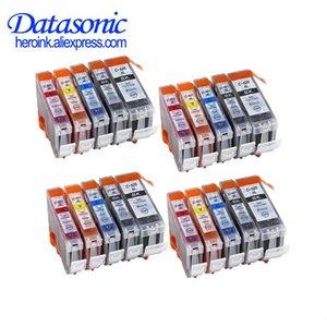 Ink Cartridges Datasonic Compatible Cartridge For Canon PGI520 CLI521 PIXMA IP3600 IP4600 IP4700 MX860 MX870 MP540 PGI-520 PGI 520
