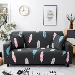 Chair Covers MIHE 1 PC Sofa Cover Set Geometric Couch Elastic For Living Room Pets Corner L Shaped Chaiingle Two Three Seat
