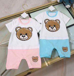 Baby Rompers Girls Garçon Vêtements Combinaisons Été Enfants Vêtements De Designer Nouveau-né Romper