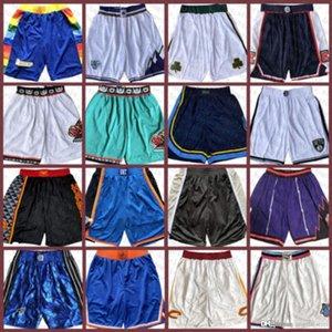 Hombres MemphisGrizzliesNueva Filadelfia76erJersey ClevelandCaballerosDallasPantalones cortos de baloncesto de bolsillo Mavericks