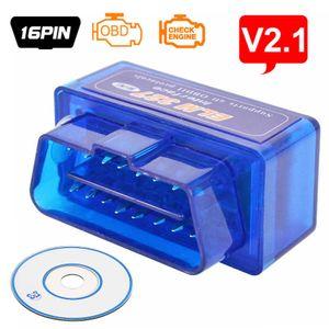 OBD2 Scanner Bluetooth ELM327 V2.1 Mini Bluetooth Auto Scanner Check Engine Light Code Reader Automotive Diagnostic Scan Tool