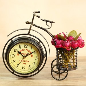 Clock Seat Hebu Tricycle Iron Art Watch Base Creative Craft Ornament