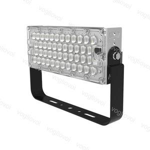 LED Floodlight Fin Module 100W SMD3030 184LEDs Waterproof AC100-305V 1060 Aluminium 93% Transmittance For Football Field Basketball Court DHL