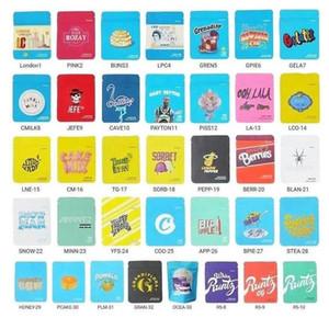 3.5 gramas bolsas bolsas embalagens sacos cheiro à prova de crianças Califórnia chita piss gelatti gary payton libra libra libra leite de cereais dfgh