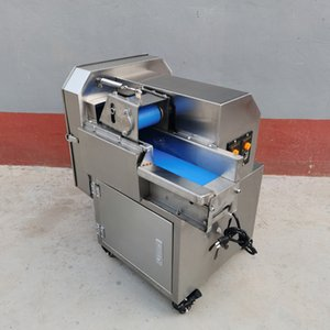500kg   h High Production Vegetable Cutter Machine Multi-function Cutting Shallot Onion Dicing Food Slicer