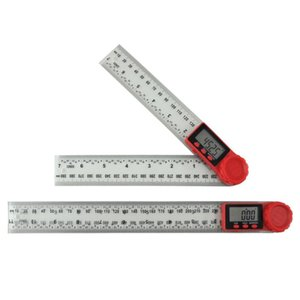디지털 각도 파인더 궤도 2-in-1 플라스틱 목공 측정 도구 GK99 메모장