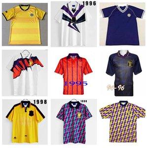 Nostalgia 1991 Scotland Ретро Футбол Джерси Кубок Кубка мира Главная Синие Наборы 96 98 Классический Старинный Шотландия Футбол Рубашка H Топы H