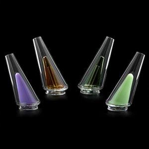 4 colores Fumar Glass Peak Peak Pastel De repuesto Burbujador de agua para la plataforma DAB eléctrica