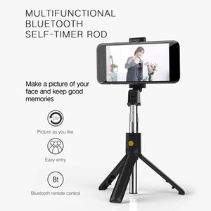 Selfie Monopods Bluetooth V4.0 Handheld Remote Stick Tripod Outdoor Po Mobile Phone Monopod About 10m Distance For IOS Android