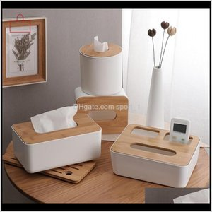 RSCHEF Home Kitchen de tissu de tissu en plastique en bois Boîtier de serviette de bois massif Case simple élégant 94Asd h2nx8