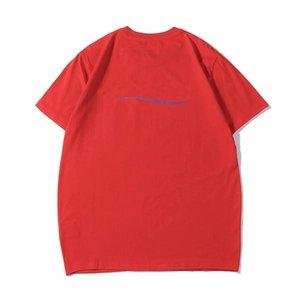 Männer Frauen Tops Designer Wave Brief Gedruckt Classic Sommer T-Shirts 19ss Qualität Casual Kurzarm Herren Rundhals-T-Shirts mit mehr Farben und Größen