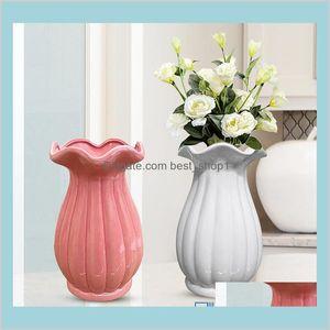 Décor de jardín 121220 cm jarrón encantador de la decoración de la decoración del jardín de la jardín 6DCME