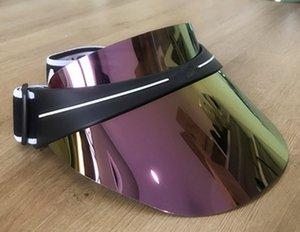 2021 top designer visor upgraded thickened brand sun hat summer outdoor uv sunglasses adjustable size 56-62cm