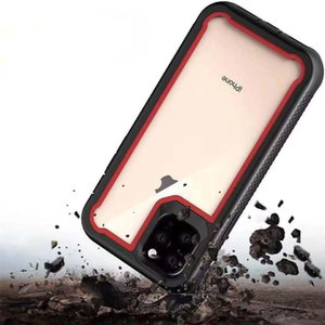Hybrid protective shell PC + Soft TPU back cover robot phone case