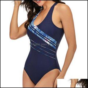Suits Swimming Equipment & Outdoorssexy Female Plus Large Size One Piece Swimsuit Closed Swimwear Sports Push Up Body Womens Swim Bathing Su