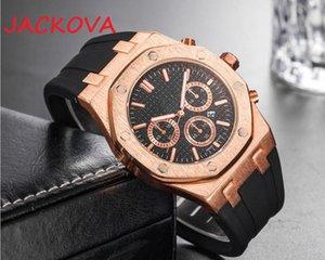 Top Marke Black Silikon Quarz Mode Herren Zeit Uhr Uhren Auto Datum Männer Kleid Designer Watch Großhandel Männliche Geschenke Armbanduhr Relogios