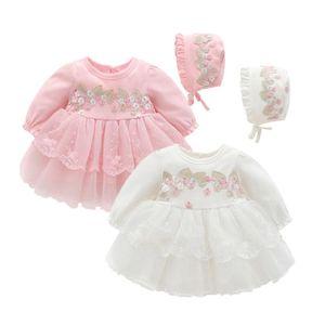 의류 세트 아기 소녀 드레스 가을 유아 아이 파티 레이스 투투 공주 옷 복장 의상 유아 Clothi