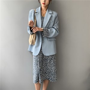 Women's Suits & Blazers 2021 Fashion Designer Womens Office Jacket Casual Outer Coat