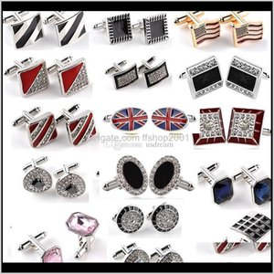 Crystal Cufflinks Diamond Cross Sign Cufflinks Enamel Cufflinks Cuff Links Franch T Shirts Suits Cuff Links Will And Sandy Jewelry Kjf Ycfjk