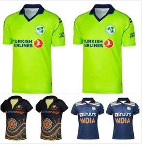 2021 camisetas de cricket camisetas Rugby Jersey Irlanda India Australia Maori Uniform Zealand