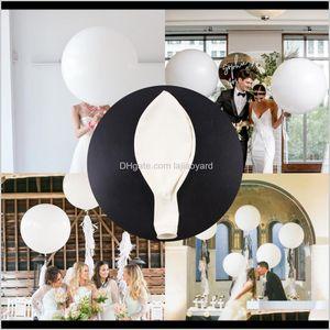 Qifu 18 Inch36Inch White Giant Birthday Latex Ballon Arch Baloon Wmtlda Nsjml Other Event Supplies Wimzz