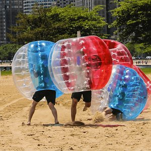 Free air pump Balloon Inflatable bump Outward bound Wholesales PVC Material 1.5M In Zorb Ball Bubble Soccer Bumper For Sale Bumper-Balls