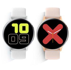 S20 EKG Akıllı İzle Erkekler Kadınlar Tam Dokunmatik Ekran IP68 Su Geçirmez Kalp Hızı Monitörü Kan Basıncı Smartwatch Fit 20mm Bantlar Değiştirilebilir