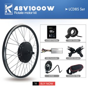 Electric Bicycle Kit Motor Rear drive conversion 26 inch 1000W 48V mountain cross country beach snow vehicle Wheel Tires 1.95 motorcycle display TFT LCD LED