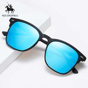 Ноонапауль рыбалка очки Zonnebril церенные солнцезащитные очки мужчины поляризованные квадратные металлические рамки мужские солнцезащитные очки бренд моды вождение
