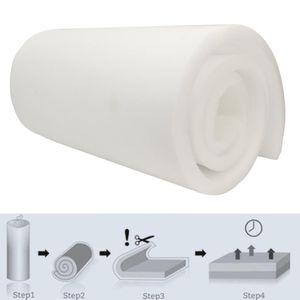 Белая высокая плотность сиденья подушки подушки подушки резиновые замена полиуретановые обивочные колодки твердые листовые подушки / декоративная подушка