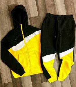 Causalité Mentracksuits femmes SPORT SUPPORTS JOGGGER AUTOMNE HIVER Pollover Sweats à capuche Pantalons Sportwear Tracksuits