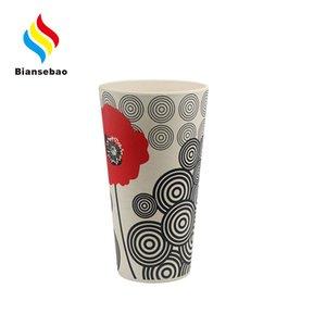 Cartoon Retro Ceramic Cup 650ml Vintage Creative Mug Coffee Cup British Conference White Porcelain Cup Manufacturer Bottle