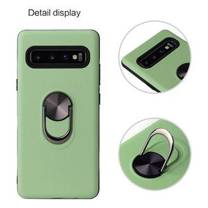 360 Metal Kickstand Magnetic Phone Cases For Iphone 12 Pro Max Mini Samsung Galaxy S20 FE A21S Moto G Stylus Hybrid Armor Case