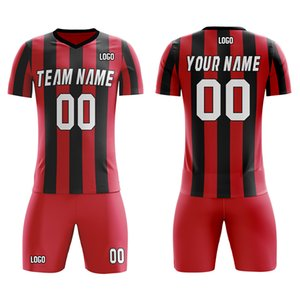 Personalized Soccer Jersey and Shorts Full Sublimated Team Name Number Custom Your Own Jersey Traning Soft Unifrom for Adult Kid