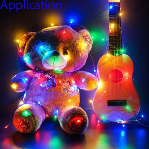 1M ~10M LED String Lights Battery operation LED Copper Wire Decoration Starry Fairy Light Holiday Wedding Light