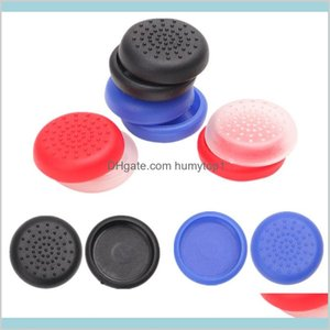 8 Colors Analog Controller Tpu Thumb Stick Grips Cap Cover For Sony Play Station Playstation Ps 4 Ps4 Console Game Accessories Koese Ryve9