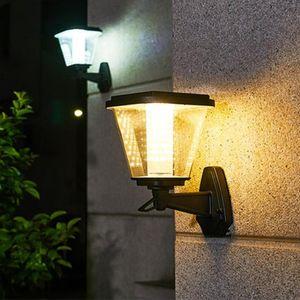 Solar Lamps Outdoor Led Light Control Lamp Waterproof Garden Pavilion Household Super Bright Door Villa Terrace Wall Lighting