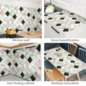 Wallpapers 300cm Aluminum Coating Waterproof Modern Living Room Furniture Desktop Self Adhesive Contact Paper Home Decor NHD8280