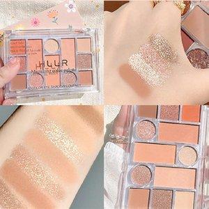 Eye Shadow 12 Colors Eyeshadow Palette Shimmer Pearly Matte Shadows Earth Milk Tea High Pigmented Cosmetics TSLM1