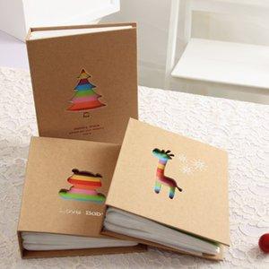 6 polegadas de 100 páginas Álbum Insert Tipo Criança Creative Simple Photo Album Família Pequeno Álbum