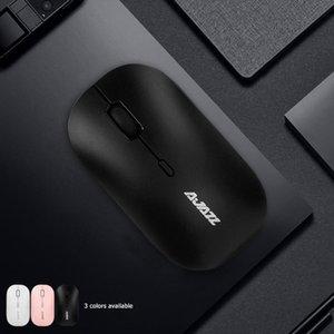 Slim 2.4G беспроводная мышь до 1600 DPI Оптические мыши с USB-приемником для домашних компьютерных частей домашних животных AJAZZ I18