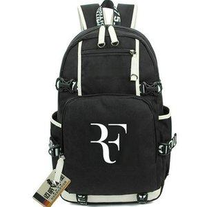 F рюкзак Роджер Федерер логотип день пакет теннис вентиляторы школьные сумки упражнения пакзак качества rucksack спортивная школьная сумка на открытом воздухе