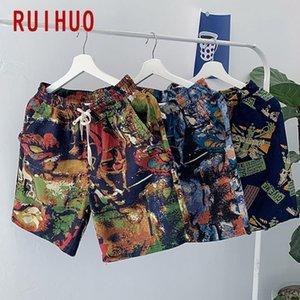 Ruihuo rahat şort erkekler
