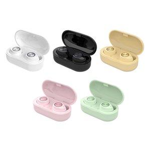 Auriculares inalámbricos Coloridos TW60 Auriculares Control táctil Ruido Reducción TWS Bluetooth Auricular 5.0 Auriculares de deporte estéreo en el oído
