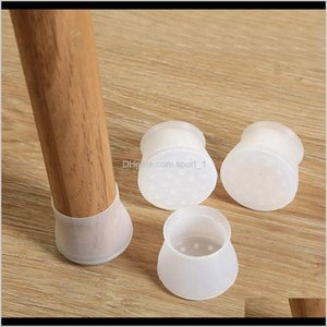 Furniture Sil Protection Cover Chair Leg Caps Sile Floor Protector Round Furniture Table Feet Cover Furniture Accessories F9H6 Burzw