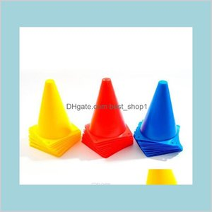 Soccer Marker Cones Football Training Sports Entertainment Traffic Flag Barrel Obstacle Discs 18Cm 8Cm Toys Gifts Sp Lpjvf