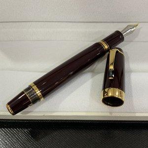 Pluma de lujo de alta calidad 4810 plumas de fuente de plumas retráctiles retráctiles mueve la bolsa de tintas conveniente para usar